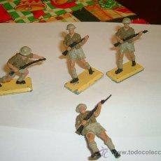 Figuras de Goma y PVC: BRITAINS RATAS DEL DESIERTO-INGLESES 2ª GUERRA MUNDIAL.. Lote 25273821