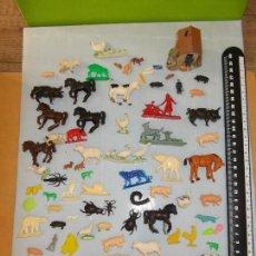 Figuras de Goma y PVC: BRITAINS SERJAN.GRAN LOTE : ANIMALES+ACCESORIOS GRANJA,ZOO VARIAS ESCALAS.DIORAMAS TREN IBERAMA.PTOY. Lote 79309569