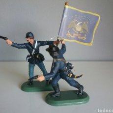 Figuras de Goma y PVC: FEDERAL YANKEE SOLDADOS UNIÓN GUERRA CIVIL AMERICANA, BRITAINS , SOLDADO FEDERALES OESTE . Lote 89301200