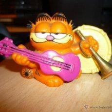 Figuras de Goma y PVC: ANTIGUA FIGURA FRITZ THE CAT MUSICO MUSIC IS MY LIFE BULLY 1981 ALTURA 4,5 ANCHO 8 CMS. Lote 48311602