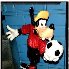 Figuras de Goma y PVC: FIGURA DISNEY GOOFY PORTERO BULLYLAND. Lote 66853602