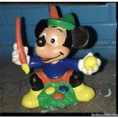 Figuras de Goma y PVC: FIGURA MICKEY PINTOR DISNEY, BULLYLAND. Lote 66475546