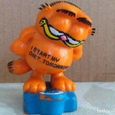 Figuras de Goma y PVC: FIGURA PVC GARDFIELD BULLY WEST GERNANY VINTAGE AÑOS 80. Lote 81018672