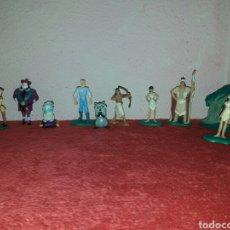 Figuras de Goma y PVC: LOTE DE 10 FIGURAS POCAHONTAS BULLYLAND. Lote 86111266