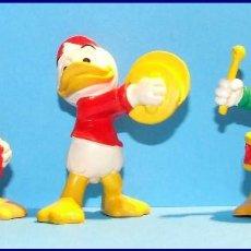 Figuras de Goma y PVC: CLASICOS DISNEY AÑOS 80 LOS 3 SOBRINOS DE PATO DONALD FIGURA PVC BULLY. Lote 87538936