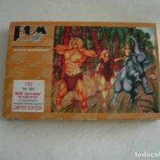Figuras de Goma y PVC: CAJA VACIA FIGURAS TARZAN. Lote 78897853