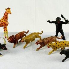 Figuras de Goma y PVC: CAPELL OCHO FIERAS EN PLÁSTICO. Lote 109061056