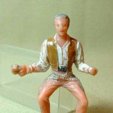Figuras de Goma y PVC: FIGURA EN PLASTICO, SERIE, EL GRAN CHAPARRAL, COMANSI. Lote 23743645
