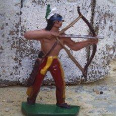 Figuras de Goma y PVC: INDIO DE COMANSI . Lote 57959496