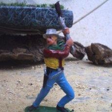 Figuras de Goma y PVC: VAQUERO DE COMANSI. Lote 58148046