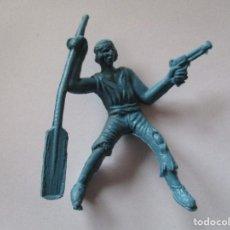 Figuras de Goma y PVC: FIGURA PÌRATA PIPERO AÑOS 60. Lote 74680467