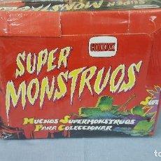 Figuras de Goma y PVC: SUPER MONSTRUOS . Lote 83643456