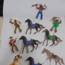 Figuras de Goma y PVC: LOTE DE 10 FIGURAS DEL OESTE. COMANSI. LAS DE LAS FOTOS. VER. Lote 84584572