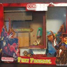 Figuras de Goma y PVC: FORT FEDERAL COMANSI . Lote 89615304