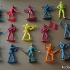 Figuras de Goma y PVC: SOLDADOS ESPAÑOLES-AMERICANOS- JAPONES. Lote 94460138