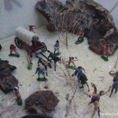 Figuras de Goma y PVC: A SALTO A LA CARABANA. Lote 95357167