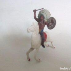 Figuras de Goma y PVC: INDIO COMANSI AÑOS 60. Lote 95412043
