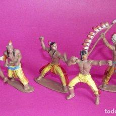 Figuras de Goma y PVC: INDIO - JECSAN - COMANSI - LAFREDO - LOTE DE INDIOS - JEFE INDIO. Lote 95673883
