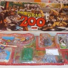 Figuras de Goma y PVC: GRAN ZOO COMANSI NUEVO A ESTRENAR REF. 226 UNA JOYA DE LOS AÑOS 70 LA CAJA MAS GRANDE. Lote 98504391