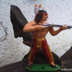 Figuras de Goma y PVC: INDIO DE COMANSI. Lote 98623499