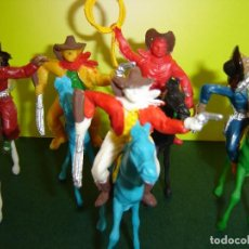 Figuras de Goma y PVC: COW-BOYS COMANSI. Lote 98672507