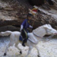 Figuras de Goma y PVC: SOLDADO CON ESTARDARTE DE LA BATALLA DEL LITTER BING HON DE COMANSI. Lote 109369099