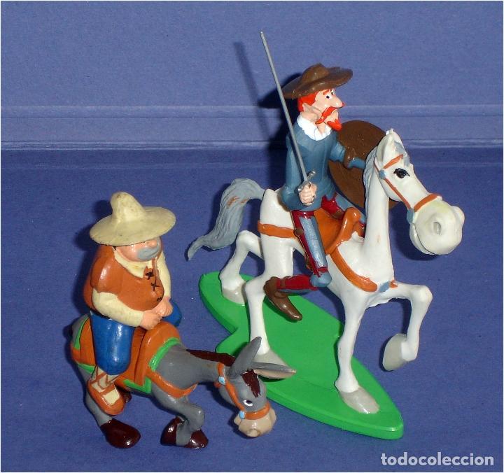 Figuras de Goma y PVC: COMICS SPAIN - FIGURAS DE D. QUIJOTE & ROCINANTE, SANCHO & RUCIO - - Foto 5 - 79093685
