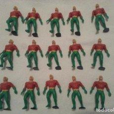 Figuras de Goma y PVC: LOTE MUÑECOS - FIGURAS AQUAMAN DC COMICS SPAIN 1991 15 UNIDADES. Lote 94466714