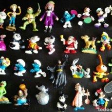 Figuras de Goma y PVC: LOTE 30 FIGURAS PVC CÓMICS SPAIN BULLYLAND SCHLEICH ASTÉRIX LOTE FIGURAS PVC AÑOS 80. Lote 95375095