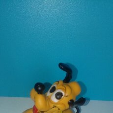 Figuras de Goma y PVC: ANTIGUA FIGURA MUÑECO PVC PLUTO DISNEY COMICS SPAIN AÑO 87. Lote 97224660