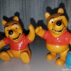 Figuras de Goma y PVC: JUEGO COMPLETO 2 FIGURAS PVC GOMA WINNIE POOH COMICS SPAIN. Lote 101143198