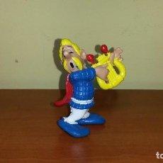 Figuras de Goma y PVC: FIGURAS ASTERIX OBELIX COMICS SPAIN PVC AÑOS 80 MÚSICO ALDEA GALA. Lote 106187227
