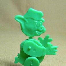 Figuras de Goma y PVC: PREMIUM DETERGENTE OMO, FIGURA DE PLASTICO, ARTICULADO, 1960S. Lote 22867762