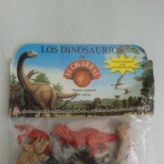 Figuras de Goma y PVC: FIGURAS DUNKIN. DINOSAURIOS EL CIGARRAL. Lote 42866853