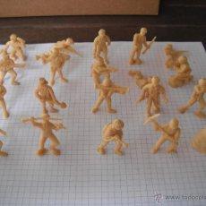 Figuras de Goma y PVC: LOTE 20 SOLDADOS JAPONESES -ORIGINALES- DUNKIN. AÑOS 70.. Lote 44011606