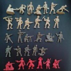 Figuras de Goma y PVC: FIGURAS DUNKIN. SOLDADOS HAZAÑAS Y COMBATES. LAS ORIGINALES DE DUNKIN. Lote 47087351
