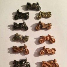 Figuras de Goma y PVC: LOTE MOTOS DUNKIN PREMIUM BIMBO PHOSKITOS. Lote 52948623