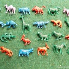 Figuras de Goma y PVC: LOTE COLECCIÓN FIGURAS PLÁSTICO AÑOS 70 TITO DUNKIN. Lote 58577614