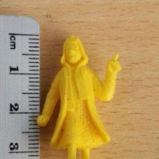 Figuras de Goma y PVC: ANTIGUA FIGURA DUNKIN SERIE TINTIN DE TITO LOMBARD AÑOS 70. Lote 79031337
