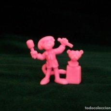 Figuras de Goma y PVC: FIGURA DUNKIN PANTERA ROSA 1984. Lote 87643496