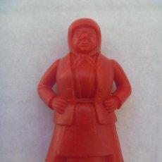 Figuras de Goma y PVC: FIGURA DE DUNKIN DE TINTIN .. DETRAS PONE ESSO. Lote 98818352