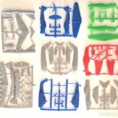 Figuras de Goma y PVC: LOTE 8 COLADAS DE AVIONES PREMIUM BIMBO - DUNKIN COMO LOS MONTAPLEX - A ESTRENAR. Lote 102065607