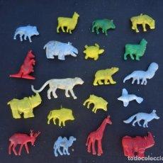 Figuras de Goma y PVC: DUNKIN ANIMALES DEL ZOO. Lote 103238155