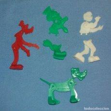 Figuras de Goma y PVC: LOTE FIGURAS ARTICULADAS DISNEY DETERGENTE OMO DUNKIN ORIGINALES AÑOS 60 LOTE 2. Lote 108813287