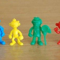 Figuras de Goma y PVC: LOTE 6 FIGURAS DUNKIN BRUGUERA. Lote 109499339