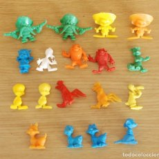 Figuras de Goma y PVC: LOTE 18 FIGURAS DUNKIN WARNER BROS. Lote 109500587