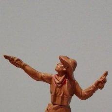 Figuras de Goma y PVC: VAQUERO DEL OESTE DE GOMA AÑOS 50, DE LA CASA GAMA. Lote 58602116