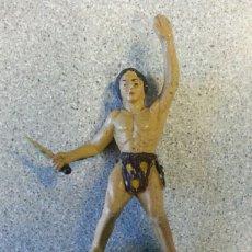 Figuras de Goma y PVC: TARZAN GOMA GAMA AÑOS 50. Lote 77958817