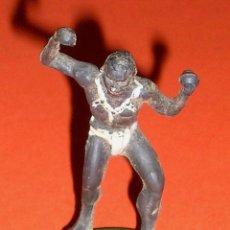 Figuras de Goma y PVC: GUERRERO NEGRO AFRICA, SAFARI JUNGLA, FABRICADO EN GOMA POR LA CASA ESPAÑOLA GAMA, ORIGINAL AÑOS 50.. Lote 101783167