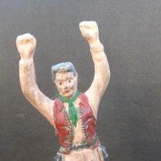 Figuras de Goma y PVC: GAMA COWBOY GOMA. Lote 108917679
